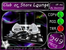 >> Club or Store Lounge 2 <</>> * 9 / 5 Metre *