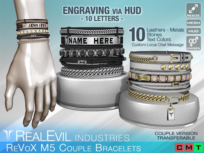 **RE** ReVoX M5 Couple Bracelets BOX