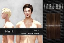 Uw.st   Matt-Hair  Natural brown