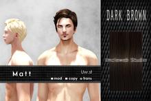 Uw.st   Matt-Hair  Dark brown