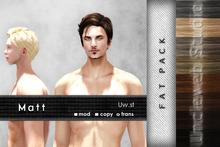 Uw.st   Matt-Hair   Fat pack
