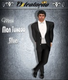 :::OTC::: 0027 - Man Tuxedo Suit - SILVER Edition