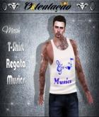 :::OTC:::031 - T-Shirt Regata  Music White MESH