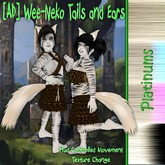[AD] Wee-Neko Fluffed Tails and Ears-Platinums