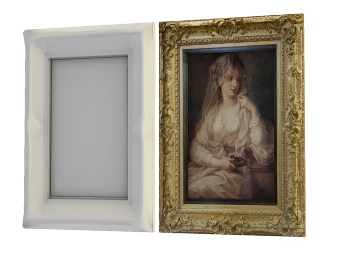 Mesh Picture Frame - Full Perm