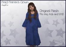 Maid Marian's Gown - Sapphire