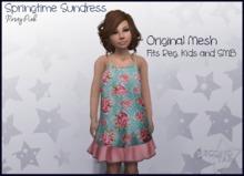 Springtime Sundress - Rosey Pink