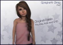 Spaghetti Strap - Peach