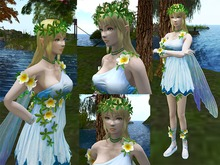 Fairy Girl Tiny Avatar - Full Perm
