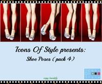 IOS Shoe Poses - Pack 4 (copy/modify)