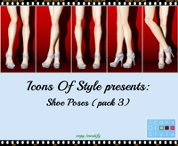 IOS Shoe Poses - Pack 3 (copy/modify)