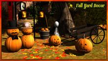 {XO} Full Perm Fall Yard Decor