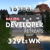 16384 sqm / 329 WK - CATNIP Developers land