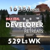 16384 sqm / 529 WK - CATNIP Developers land