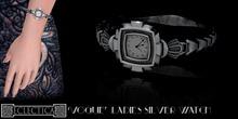 Eclectica 'Vogue' Watch-Silver