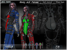 !Bodysuit Female ! +hud 5 color and fitted mesh include