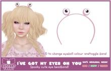 -Buttery Toast- I've got my eyes on you - Pink