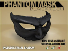 Phantom Mask - Black Tech