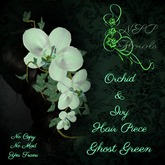 NSP Orchid & Ivy Hair Piece Ghost Green boxed
