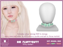 .:Buttery Toast:. Sir Fluffybutt - Teal  (100% original mesh)
