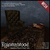 {RW} Reading Room Chair Set