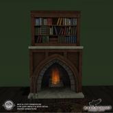 Grand Library Fireplace (4 LI)(Copy, Mod)