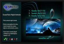 Sound Pack: Nigth Animals