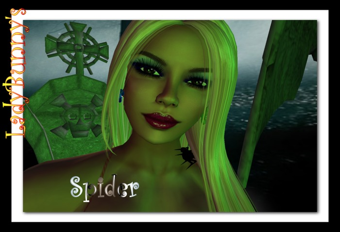 ~Hauntingly Halloween~Spider on Your Neck For Your Avatar Accessories!