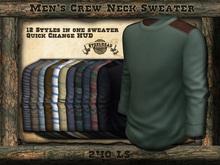 Steelhead Men's Mesh Crewneck Sweater