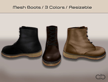 .Atelier. Terrance Boots (Trio Pack)