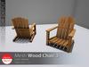 [DD] - FULL PERM  Wood Chair 3