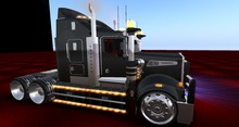BILLIONAIRE MOTORS CUSTOM SEMI K(BLACK/CHROME)BOXED