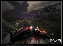 """*!* EVE catsuit black blood """"for all version Pulpy & Slim """""""