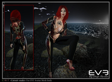 """*!* EVE catsuit snake """"for all version Pulpy & Slim """""""
