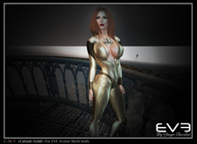 """*!* EVE catsuit Gold """"for all version Pulpy & Slim """""""
