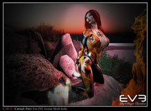 "*!* EVE catsuit Fire ""for all version Pulpy & Slim """