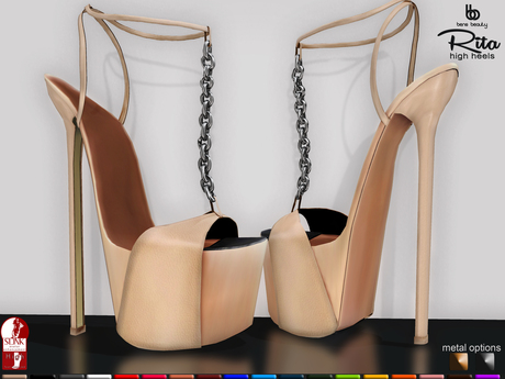 Bens Boutique - Rita High Heel All Color (Slink High Feet)