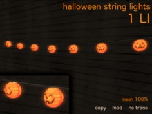 air - Halloween string lights (boxed)