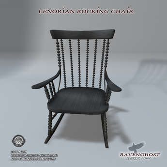 Lenorian Rocking Chair (Couples Animations)