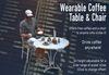 Wearable Coffee Table & Chair