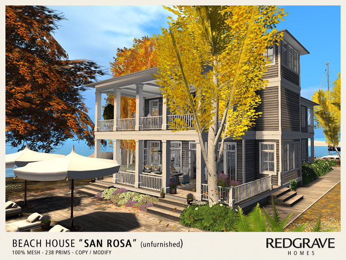 ** Beach House SAN ROSA - REDGRAVE ** (unfurnished!)