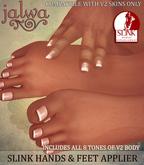 Jalwa - Slink  Hands & Feet All Tones V2