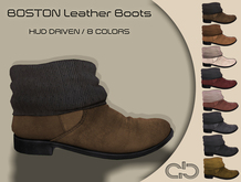 .Atelier. Boston Leather Boots - HUD Driven