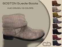 .Atelier. Boston Suede Boots
