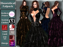 [TKS] Basic - Theoretical Gown Fatpack