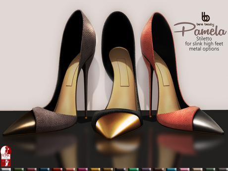 Bens Boutique - Pamela Stiletto All colors (Slink High Feet)