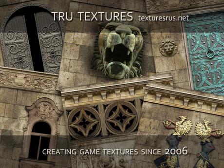 23818: 40 x Seamless Kings Castle Textures - 512 x 512 Pixels