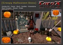 [C a r o X] Creepy Halloween Deco