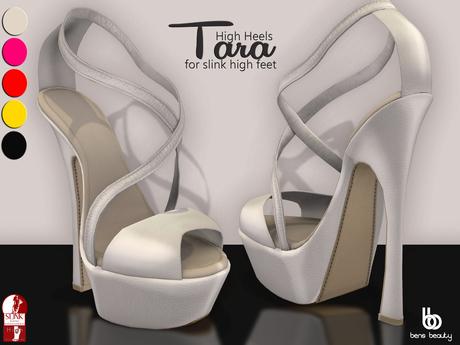 Bens Boutique - Tara Heels (for Slink High Feet)