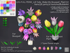 LDG-FULL PERM 128 Tulip - Make My Bouquet - Plant Kit/Nano/36 parts/26 textures/Builderkit